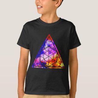 Triângulo sagrado da geometria camiseta
