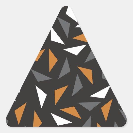 Triângulos animados adesivo triangular