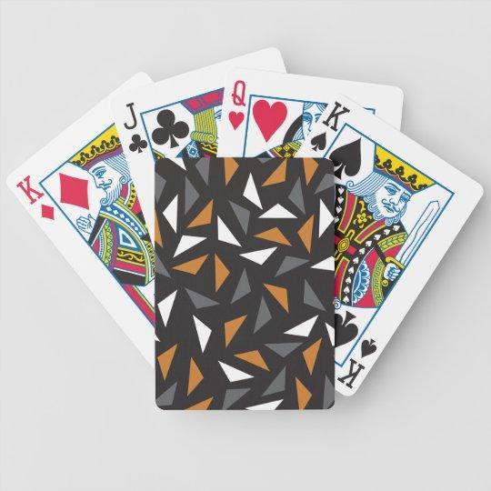 Triângulos animados baralho de truco