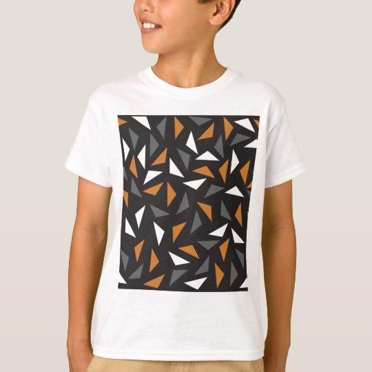 Triângulos animados camiseta