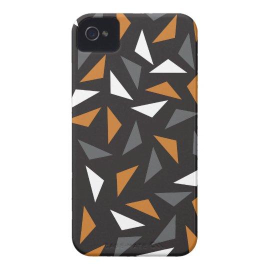 Triângulos animados capinha iPhone 4