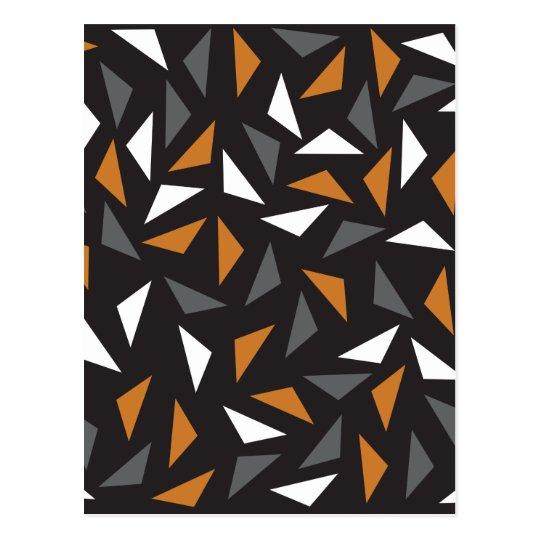 Triângulos animados cartão postal