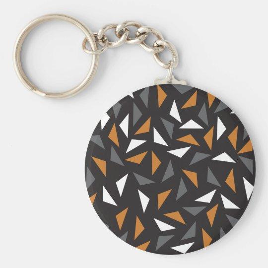Triângulos animados chaveiro