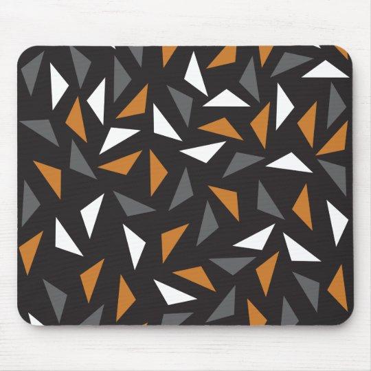 Triângulos animados mouse pad