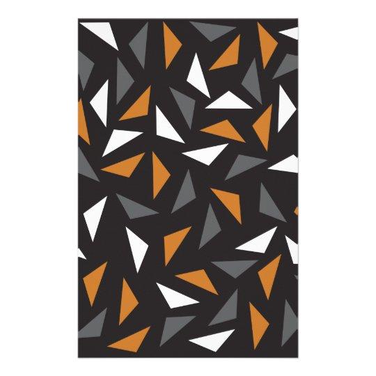 Triângulos animados papelaria