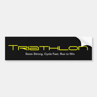 Triathlon Adesivo Para Carro