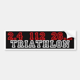 Triathlon Adesivo