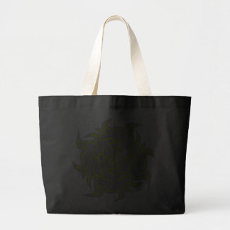 Tribal aumentou na sacola cinzenta e amarela bolsas