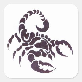 Tribal escorpião adesivos