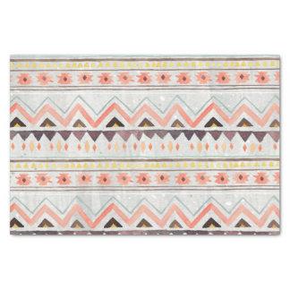 Tribal, étnico, Boho, lenço de papel ocidental,