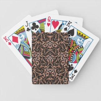 Tribal moderno intrincado escuro jogo de baralho