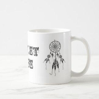 Tribo da objectiva tripla caneca de café