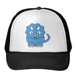 Triceratops dos desenhos animados (azul) bones