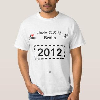 Tricou eu amo o judo de 2012 la Judo C.S.M. Braila Tshirts