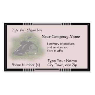 Trike antigo cartão-personaliza modelo cartao de visita