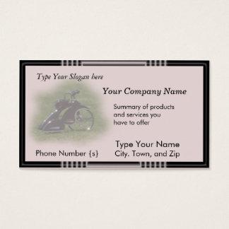 Trike antigo cartão-personaliza cartão de visitas