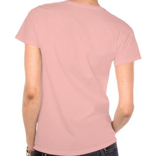Trilha do insular da mulher traseira de Haynes Com T-shirt