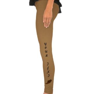 Trilha (logotipo de Brown) Calça Justa