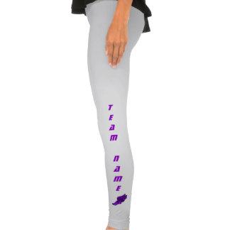 Trilha (logotipo roxo) legging