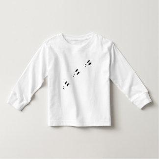 Trilhas do coelho camiseta
