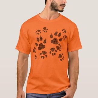 Trilhas do urso camiseta