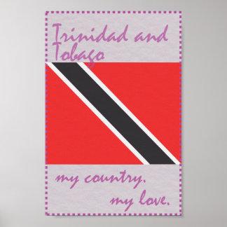 Trinidad and Tobago meu país meu amor Pôster