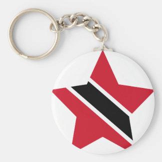 Trinidad+e+Estrela de Tobago Chaveiro