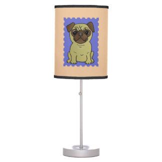 Trio da lâmpada colorida bonito dos Pugs