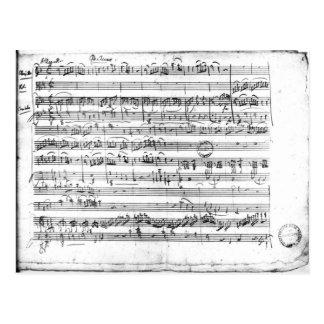 Trio, de E no major 'Kegelstatt horizontalmente Cartão Postal