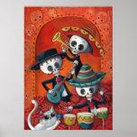 Trio do Mariachi de Diâmetro de Los Muertos Poster