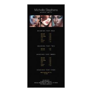 Trio moderno da foto para o preto dos 10.16 x 22.86cm panfleto