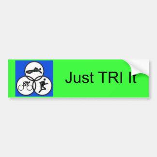 tripic1, apenas TRI ele Adesivo Para Carro
