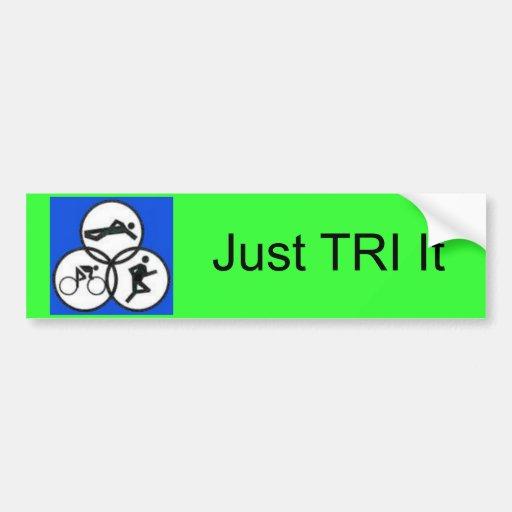 tripic1, apenas TRI ele Adesivos