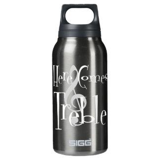 Triplo garrafa quente & fria de Sigg escuro