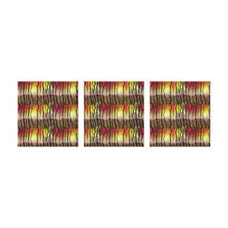 triptych ensolarado impressão em tela