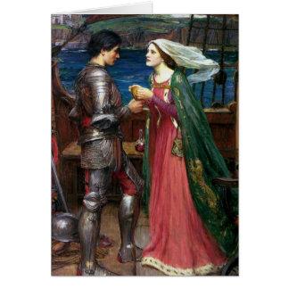 Tristan e cartão de Isolde