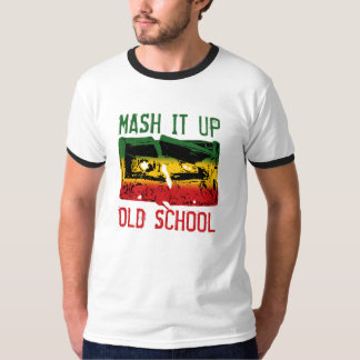 Triture-o acima da velha escola III Camisetas