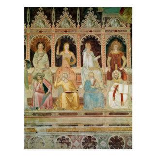 Triumph da doutrina católica cartão postal