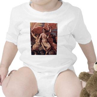 Triumph de Netuno (o Baccanale Richelieu) Macacãozinho Para Bebês