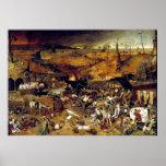 Triumph de Pieter Bruegel da morte (1562) Poster