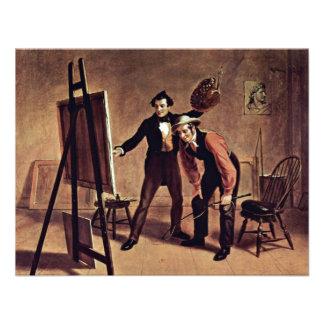 Triumph do pintor pela montagem William Sidney Convite