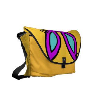 Trixie - a bolsa mensageiro (amarelo)