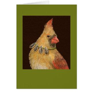 Trixie o cartão cardinal