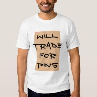 trocará t-shirts