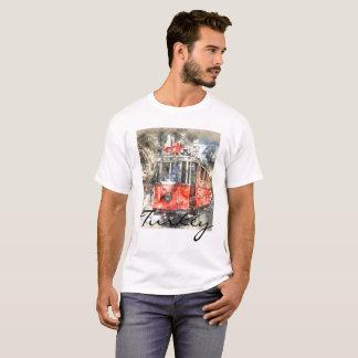 Trole do vermelho de Istambul turquia Camiseta
