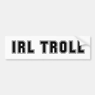 Troll da IRL Adesivo Para Carro