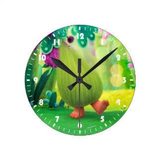 Troll | Fuzzbert Relógio Redondo
