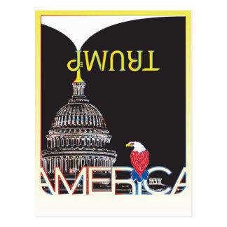 Trombeta do TRUNFO & Capitólio dos E.U. - versão Cartão Postal