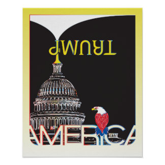 Trombeta do TRUNFO & Capitólio dos E.U. - versão Poster