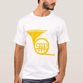 Trompa francesa - âmbar camiseta